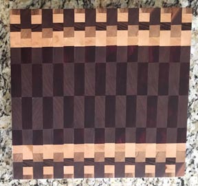 two endgrain boards