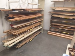 Lumber Racks - Oak, Maple, Alder, etc