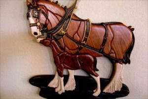 putz horse a